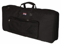 Gator Cases Gig Bag for 88 Note Keyboards; Reduced Depth - GKB-88 SLIM