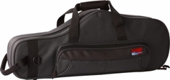 Gator Cases Lightweight Polyfoam Alto Sax Case with storage for mouthpiece and other accessories - GL-ALTOSAX-MPC