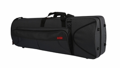 Gator Cases Lightweight Polyfoam Trombone Case with internal accomodation for F-attachment. - GL-TROMBONE-F