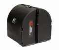 """Gator Cases Marching Bass Drum Case; Classic Series; 24"""" Wide, 14"""" Deep - GP-PC2414MBD"""