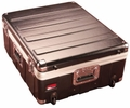 """Gator Cases Molded PE Mixer or Equipment Case; 19"""" X 21"""" X 6.5""""; w/ Wheels - G-MIX 19X21"""