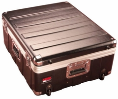 "Gator Cases Molded PE Mixer or Equipment Case; 19"" X 21"" X 6.5""; w/ Wheels - G-MIX 19X21"