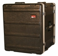 "Gator Cases Molded PE Rack Case; Front, Rear Rails; 12U; 19"" Deep; Locking - GR-12L"