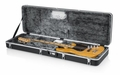 Gator Cases Molded Plastic Guitar Case for Electric Bass Guitars with Built-in LED Light - GC-BASS-LED