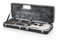 Gator Cases Molded Plastic Guitar Case for Standard Electric Guitars with Built-in LED Light - GC-ELECTRIC-LED