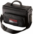 Gator Cases Padded Bag for Up to 4 Mics w/ Exterior Pockets for Cables - GM-4