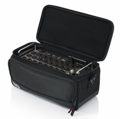 """Gator Cases Padded Nylon Bag Custom Fit for the Behringer X-AIR series Mixers; 13.1"""" X 6.25"""" X 6"""" - G-MIXERBAG-1306"""