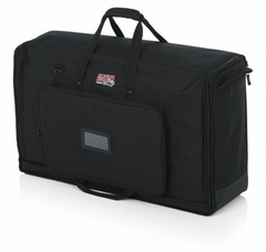 """Gator Cases Padded Nylon Carry Tote Bag for Transporting (2) LCD Screens Between 27"""" - 32""""  - G-LCD-TOTE-MDX2"""