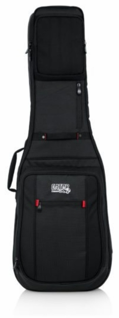 Gator Cases Pro-Go Series Electric Guitar Bag with Micro Fleece Interior and Removable Backpack Straps - G-PG ELECTRIC