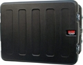 "Gator Cases Pro-Series Molded Mil-Grade PE Rack Case; 12U, 19"" Deep - G-PRO-12U-19"