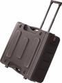 "Gator Cases Pro-Series Molded Mil-Grade PE Rack Case; 6U, 19"" Deep; w/ Handle & Wheels - G-PROR-6U-19"