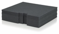 Gator Cases Replacement Diced Foam Block for GRW-DRWF3 - GRW-DRWFOAM-3