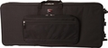 Gator Cases Rigid EPS Foam Lightweight Case w/ Wheels for Slim 76-Note Keyboards - GK-76-SLIM