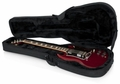 Gator Cases Rigid EPS Polyfoam Lightweight Case for Solid-Body Electrics such as Gibson SG� - GL-SG