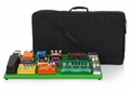 Gator Cases Screamer Green Extra Large aluminum pedal board with carry bag and bottom mounting power supply bracket. Power supply not included. - GPB-XBAK-GR