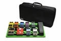 Gator Cases Screamer Green Large aluminum pedal board with Gator carry bag and bottom mounting power supply bracket. Power supply not included. - GPB-BAK-GR