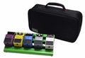 Gator Cases Screamer Green Small aluminum pedal board with Gator carry bag and bottom mounting power supply bracket. Power supply not included. - GPB-LAK-GR