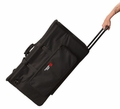 Gator Cases Small Carry Bag w/ wheels and Divider System for Artist and Band Merchandise - GP-EKIT2816-BW