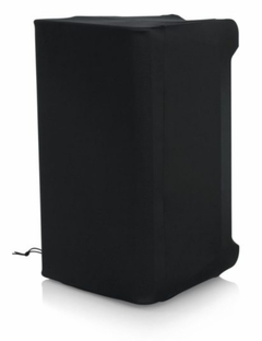 "Gator Cases Stretchy dust cover to fit most 10""-12"" portable speaker cabinets. Black - GPA-STRETCH-10-B"