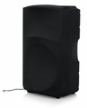 "Gator Cases Stretchy dust cover to fit most 15"" portable speaker cabinets. Black - GPA-STRETCH-15-B"