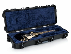 Gator Cases Titan Series ATA Impact & Water Proof Guitar Case with Power Claw Latches for Single-cutaway Electrics such as Gibson Les Paul® - GWP-LP