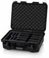 Gator Cases Titan Series Waterproof Injection Molded Case with Foam Insert 4 Wireless Mics and Accessories - GM-04-WMIC-WP