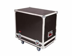 Gator Cases Tour style case to hold (2) QSC K10 speakers. Accessory compartment for cables and connectors. - G-TOUR SPKR-2K10