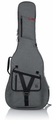 Gator Cases Transit Series Acoustic Guitar Gig Bag with Light Grey Exterior - GT-ACOUSTIC-GRY