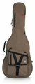 Gator Cases Transit Series Acoustic Guitar Gig Bag with Tan Exterior - GT-ACOUSTIC-TAN