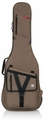 Gator Cases Transit Series Electric Guitar Gig Bag with Tan Exterior - GT-ELECTRIC-TAN