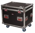 Gator Cases Truck Pack Utility ATA Flight Case; 30� x 22� x 22� Exterior Before Casters; 9mm Wood Construction - G-TOURTRK3022HS