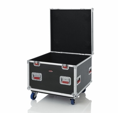 """Gator Cases Truck Pack Utility ATA Flight Case; 30"""" x 30"""" x 27"""" Exterior Before Casters; 9mm Wood Construction - G-TOURTRK3030HS"""