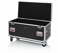 Gator Cases Truck Pack Utility ATA Flight Case; 45� x 22� x 27� Exterior Before Casters; 9mm Wood Construction - G-TOURTRK4522HS