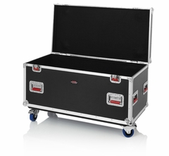 "Gator Cases Truck Pack Utility ATA Flight Case; 45"" x 22"" x 27"" Exterior Before Casters; 9mm Wood Construction - G-TOURTRK4522HS"