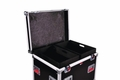 Gator Cases Truck Pack Utility ATA Flight Case; 45� x 30� x 30� Exterior Before Casters; 12mm Wood Construction, Dividers and Lift-Out Trays - G-TOURTRK453012