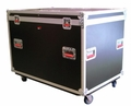 Gator Cases Truck Pack Utility ATA Flight Case; 45� x 30� x 30� Exterior Before Casters; 9mm Wood Construction - G-TOURTRK4530HS