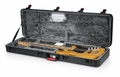 Gator Cases TSA Series ATA Molded Polyethylene Guitar Case for Bass Guitars with Built-in LED light - GTSA-GTRBASS-LED