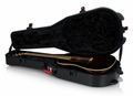 Gator Cases TSA Series ATA Molded Polyethylene Guitar Case for Dreadnaught Acoustic Guitars - GTSA-GTRDREAD