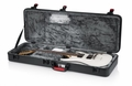 Gator Cases TSA Series ATA Molded Polyethylene Guitar Case for Standard Electric Guitars with Built-in LED light - GTSA-GTRELEC-LED