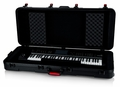 Gator Cases TSA Series ATA Molded Polyethylene Keyboard Case with Wheels for 61-note Keyboards - GTSA-KEY61