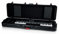 Gator Cases TSA Series ATA Molded Polyethylene Keyboard Case with Wheels for Slim 88-note Keyboards - GTSA-KEY88SL