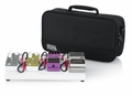 Gator Cases White Small aluminum pedal board with Gator carry bag and bottom mounting power supply bracket. Power supply not included. - GPB-LAK-WH
