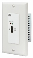 Hall Research HDMI Extension over HDBaseT� sender in single-gang Decora� Wallplate - UHBX-S-WP