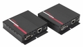 Hall Research UHBX-S-PD +UHBX-R-PSE for HDMI, IR and RS232 over HDBaseT sender with Power Sourcing receiver unit via UTP cable. - UHBX-P2