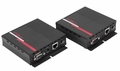 Hall Research UHBX-S-PSE +UHBX-R-PD for HDMI, IR and RS232 over HDBaseT Receiver with Power Sourcing sender unit via UTP cable. - UHBX-P1