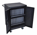 Luxor 24 Laptop/Chrome Book Charging cart - LLTP24-B