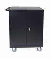 Luxor 32 Capacity Laptop/Chromebook Charging Cart - LLTP32-B