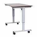"""Luxor 48"""" Electric Standing Desk  - STANDE-48-AG/DW"""