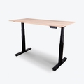 """Luxor 60"""" 3-Stage Dual-Motor Electric Stand Up Desk  - STANDE-60-BK/WO"""