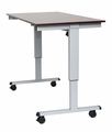 """Luxor 60"""" Electric Standing Desk  - STANDE-60-AG/DW"""